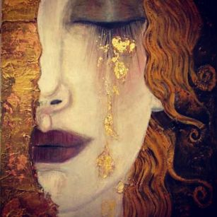 golden tears klimt