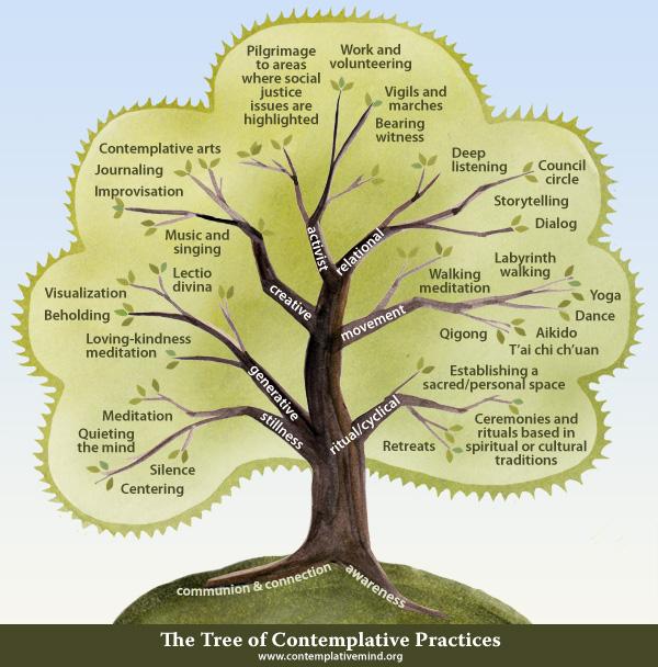 tree of contemplative practises